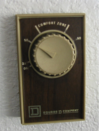 how to set simple comfort thermostat